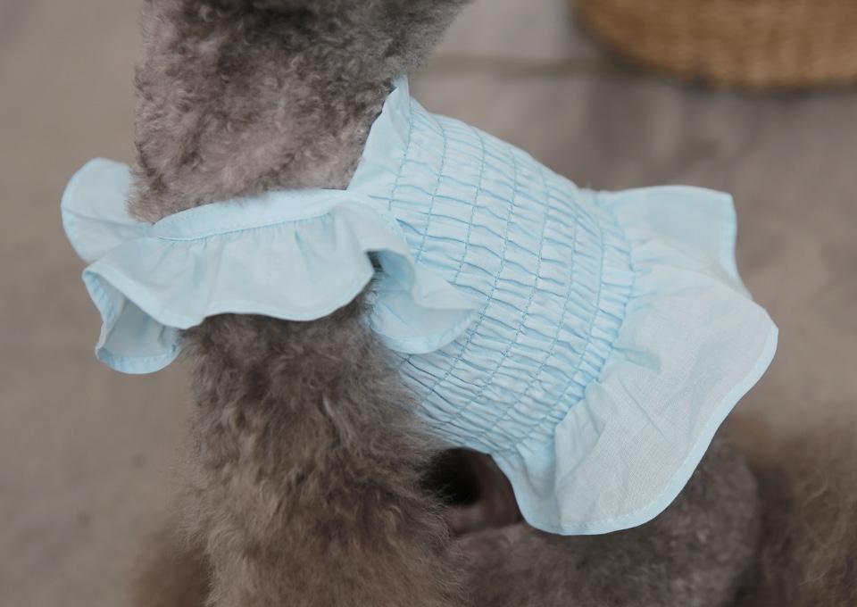 라보떼 크롭 나시 블루 - 토토앤로이, 22,000원, 의류/액세서리, 의류
